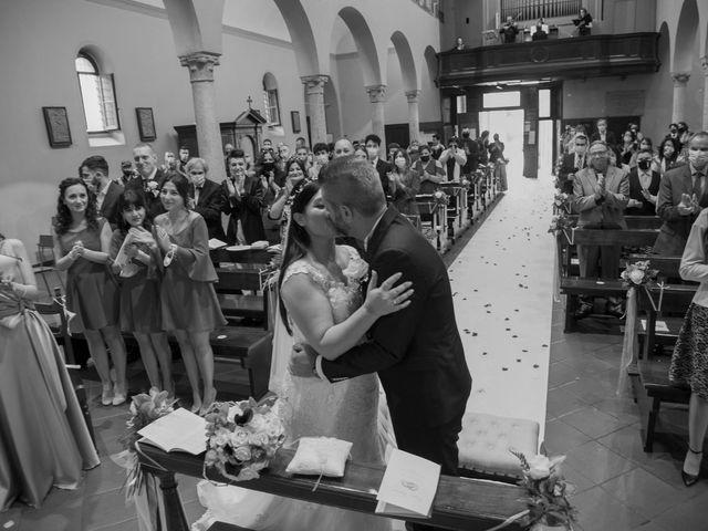 Il matrimonio di Francesco e RosaMaria a Paderno Franciacorta, Brescia 19