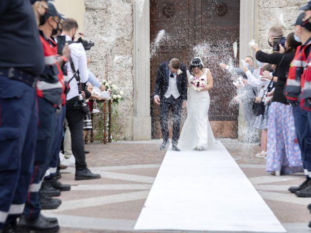 Il matrimonio di Francesco e RosaMaria a Paderno Franciacorta, Brescia 20