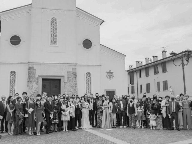 Il matrimonio di Francesco e RosaMaria a Paderno Franciacorta, Brescia 21
