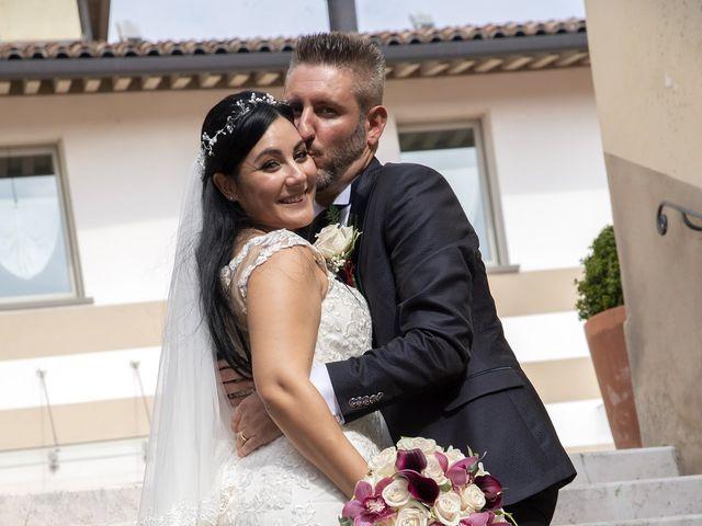 Il matrimonio di Francesco e RosaMaria a Paderno Franciacorta, Brescia 22