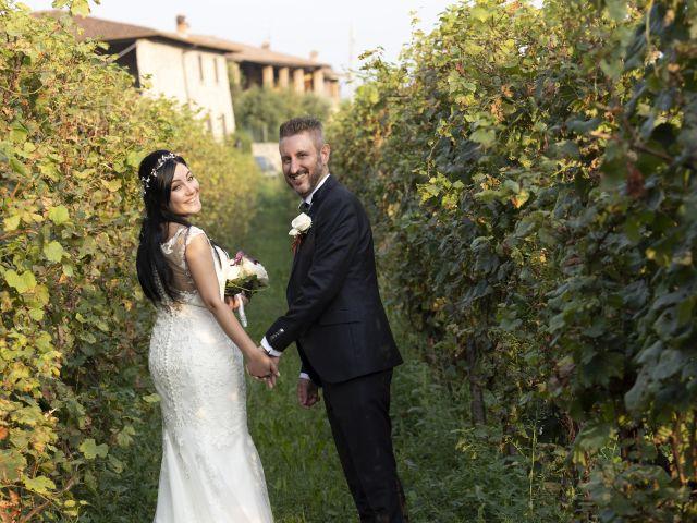 Il matrimonio di Francesco e RosaMaria a Paderno Franciacorta, Brescia 28