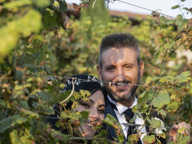 Il matrimonio di Francesco e RosaMaria a Paderno Franciacorta, Brescia 30
