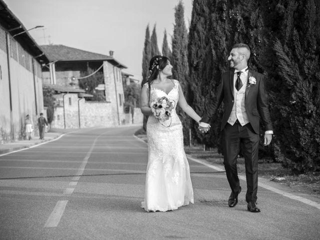 Il matrimonio di Francesco e RosaMaria a Paderno Franciacorta, Brescia 34