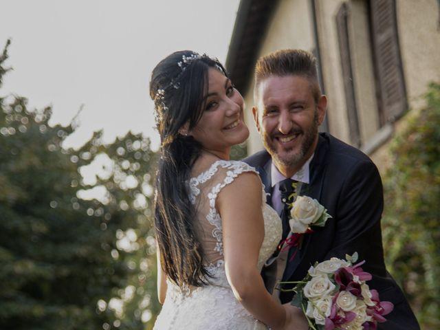 Il matrimonio di Francesco e RosaMaria a Paderno Franciacorta, Brescia 35