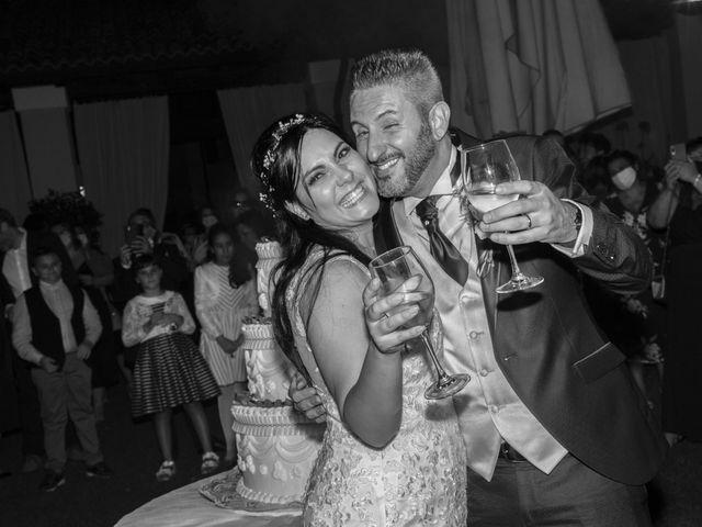 Il matrimonio di Francesco e RosaMaria a Paderno Franciacorta, Brescia 40