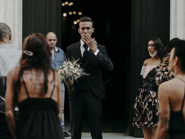 Il matrimonio di Andrea e Daniela a Corte Franca, Brescia 44