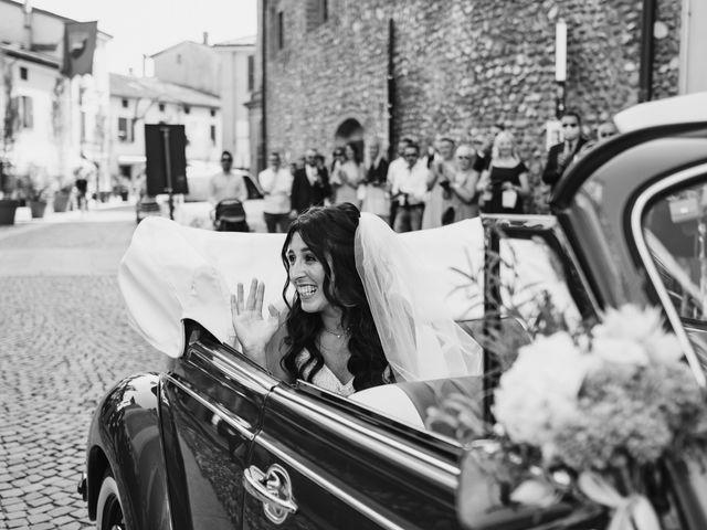 Il matrimonio di Andrea e Daniela a Corte Franca, Brescia 47