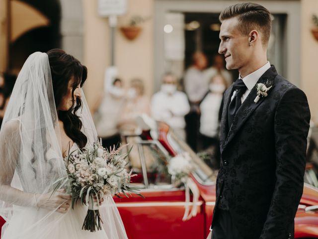 Il matrimonio di Andrea e Daniela a Corte Franca, Brescia 48