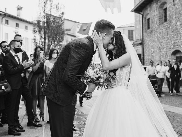Il matrimonio di Andrea e Daniela a Corte Franca, Brescia 50