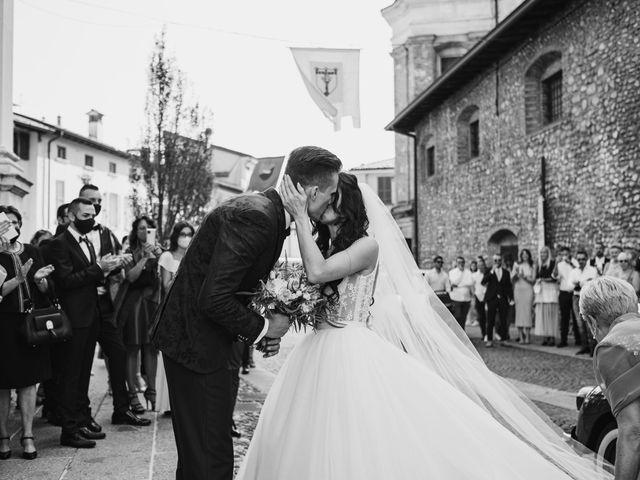 Il matrimonio di Andrea e Daniela a Corte Franca, Brescia 53