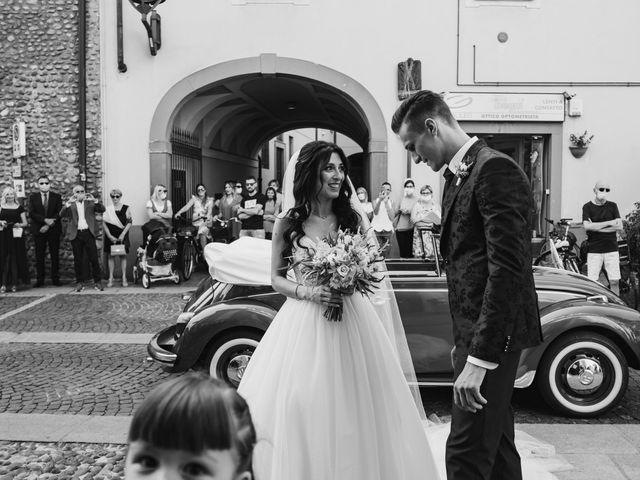 Il matrimonio di Andrea e Daniela a Corte Franca, Brescia 54