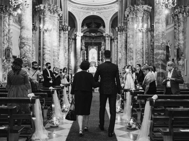 Il matrimonio di Andrea e Daniela a Corte Franca, Brescia 55