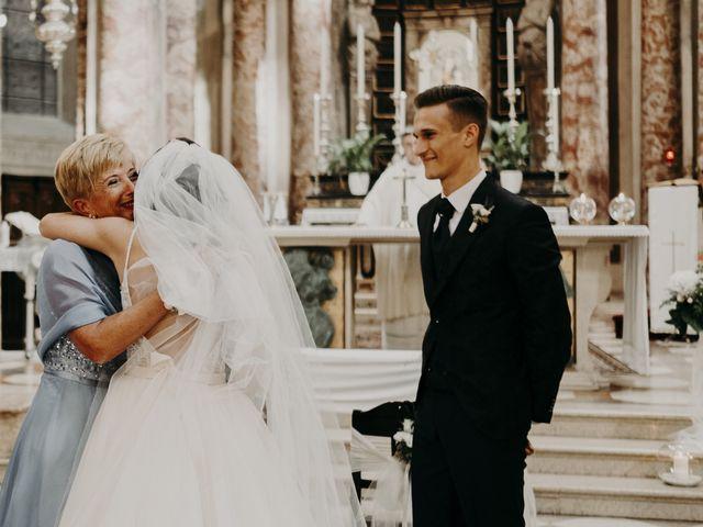 Il matrimonio di Andrea e Daniela a Corte Franca, Brescia 61