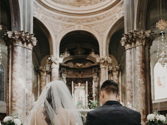 Il matrimonio di Andrea e Daniela a Corte Franca, Brescia 63