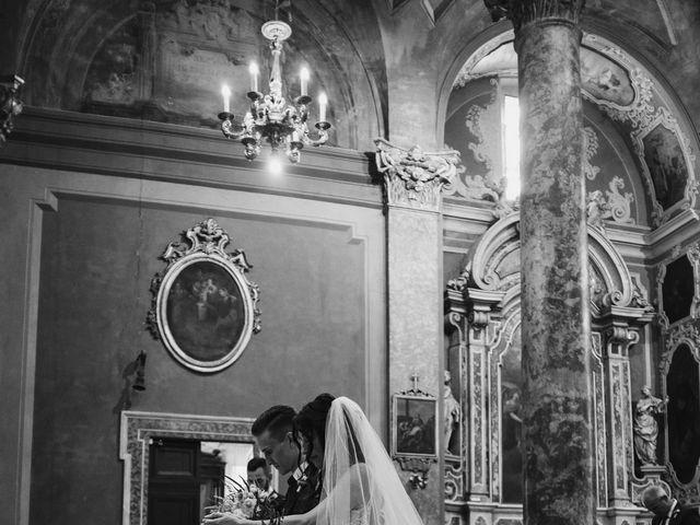 Il matrimonio di Andrea e Daniela a Corte Franca, Brescia 68