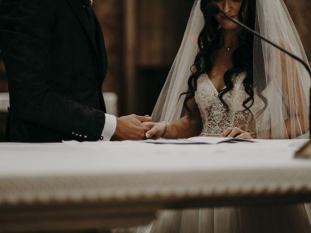 Il matrimonio di Andrea e Daniela a Corte Franca, Brescia 71