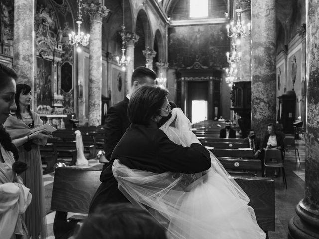Il matrimonio di Andrea e Daniela a Corte Franca, Brescia 74