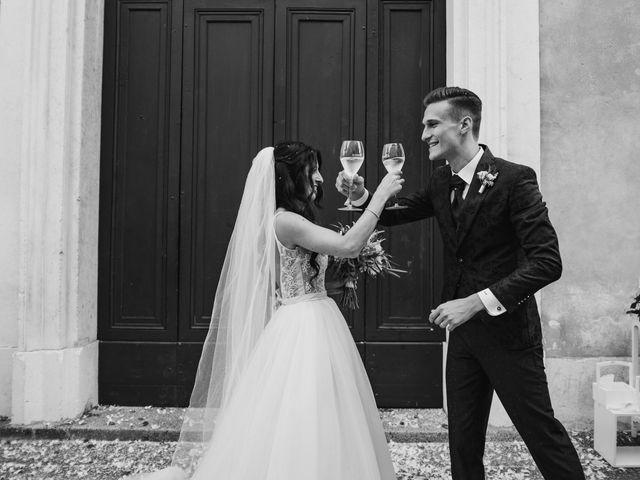 Il matrimonio di Andrea e Daniela a Corte Franca, Brescia 81