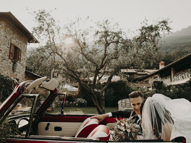 Il matrimonio di Andrea e Daniela a Corte Franca, Brescia 88
