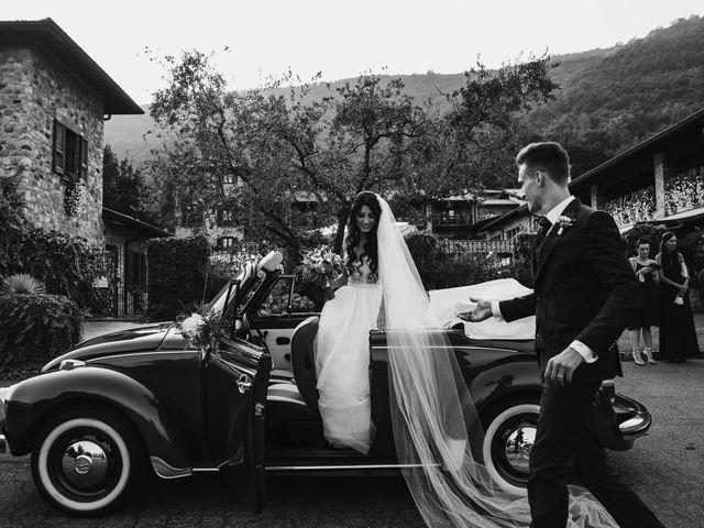 Il matrimonio di Andrea e Daniela a Corte Franca, Brescia 92