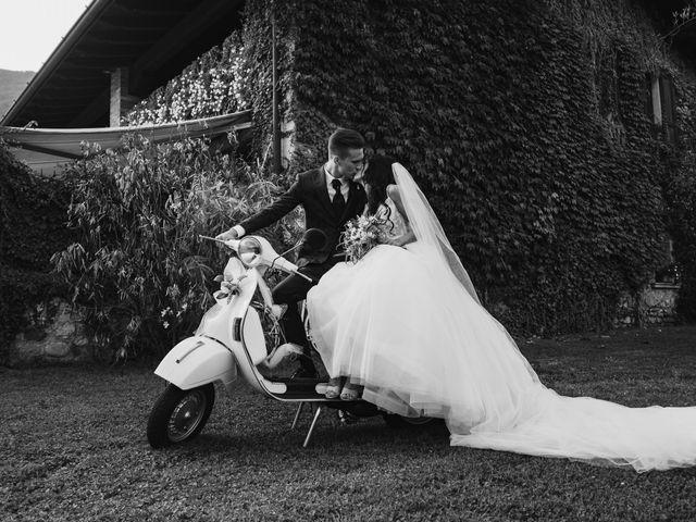 Il matrimonio di Andrea e Daniela a Corte Franca, Brescia 93