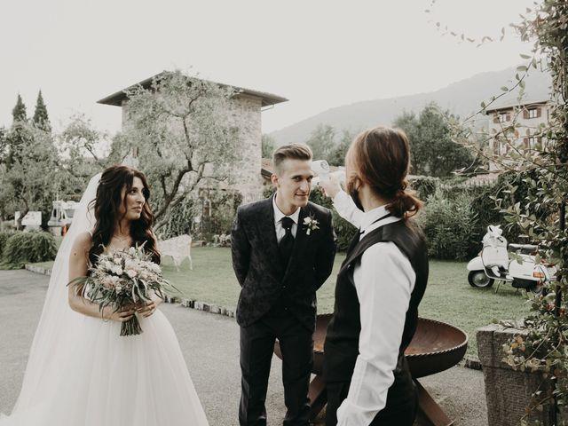 Il matrimonio di Andrea e Daniela a Corte Franca, Brescia 97