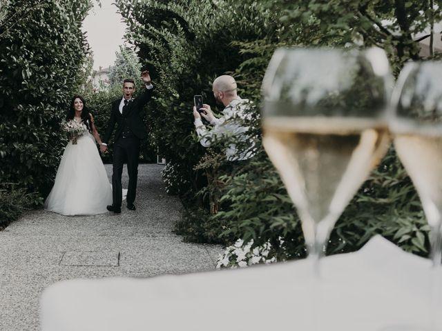 Il matrimonio di Andrea e Daniela a Corte Franca, Brescia 98