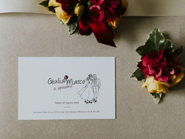 Il matrimonio di Marco e Giulia a Vercelli, Vercelli 9