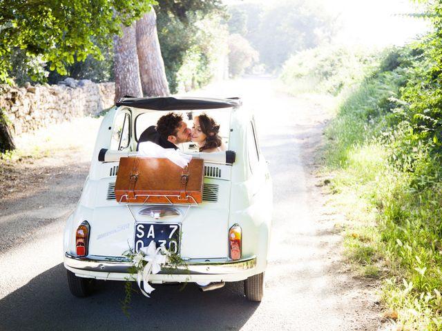 le nozze di Donatella e Patrik