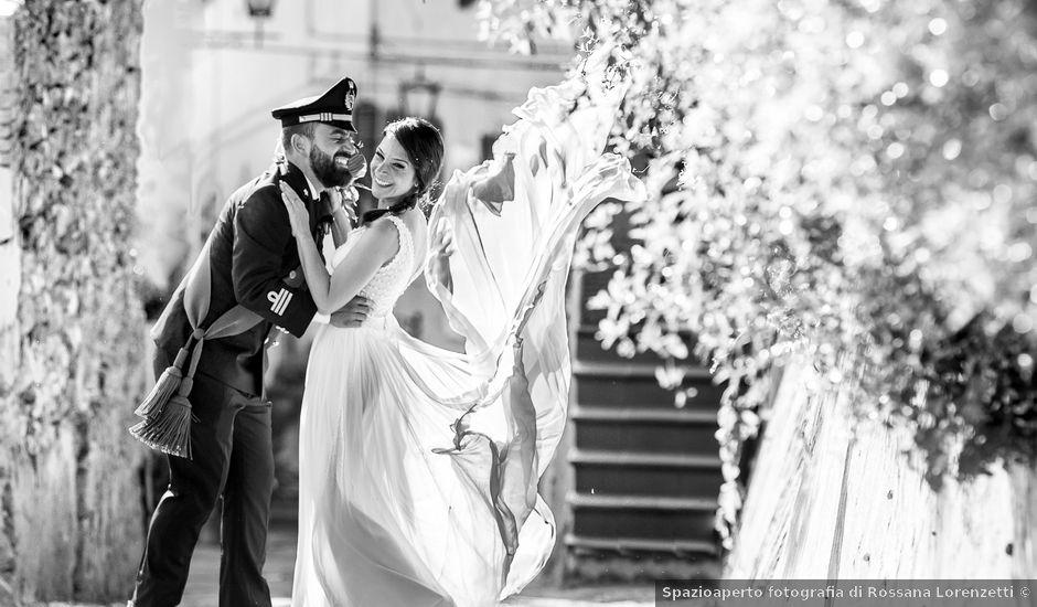 Il matrimonio di Giuseppe e Helga a Vicopisano, Pisa