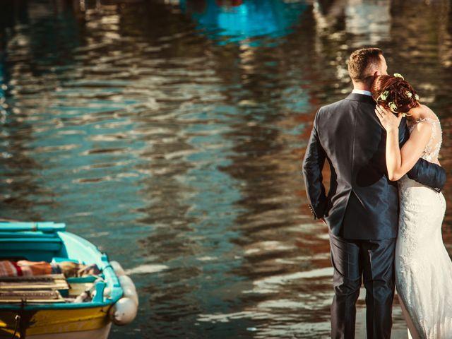 le nozze di Maria Chiara e Mario