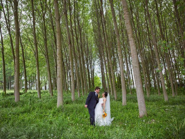 Le nozze di Fabiana e Piercarlo