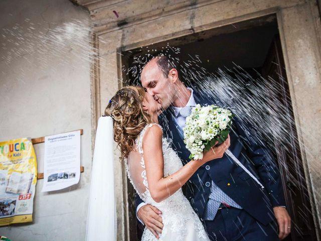 Il matrimonio di Paola e Enrico a Casto, Brescia 17