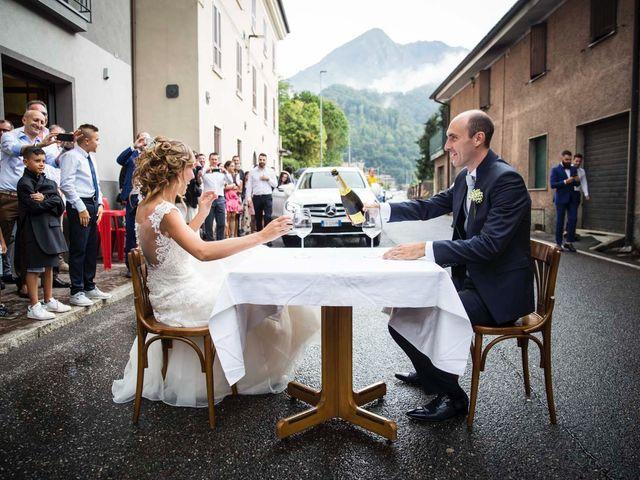 Il matrimonio di Paola e Enrico a Casto, Brescia 41