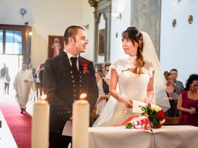 Il matrimonio di Giacomo e Irene a Carmignano, Prato 43