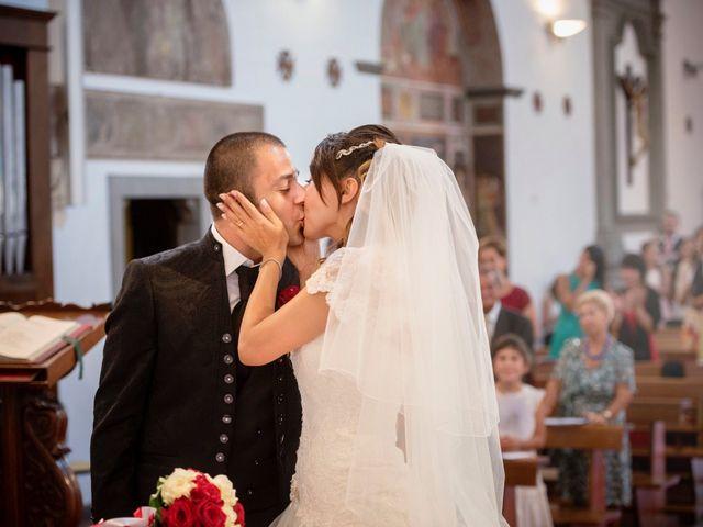 Il matrimonio di Giacomo e Irene a Carmignano, Prato 51
