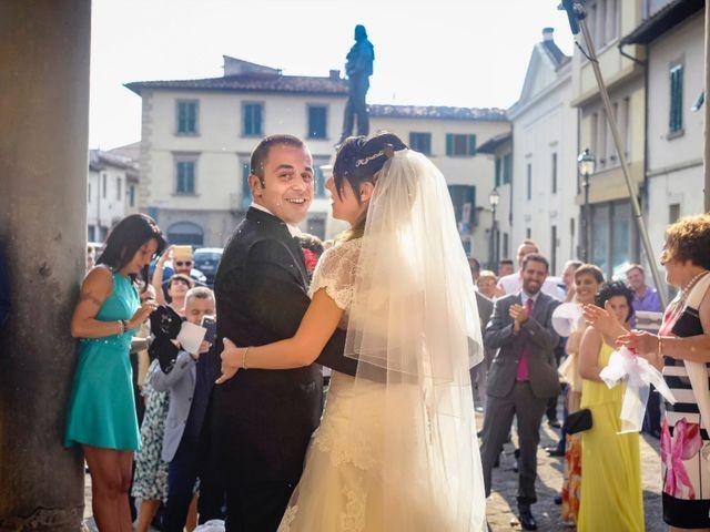 Il matrimonio di Giacomo e Irene a Carmignano, Prato 61