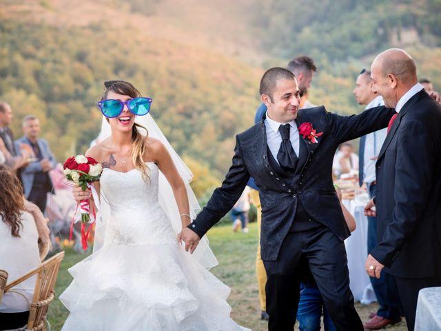 Il matrimonio di Giacomo e Irene a Carmignano, Prato 89