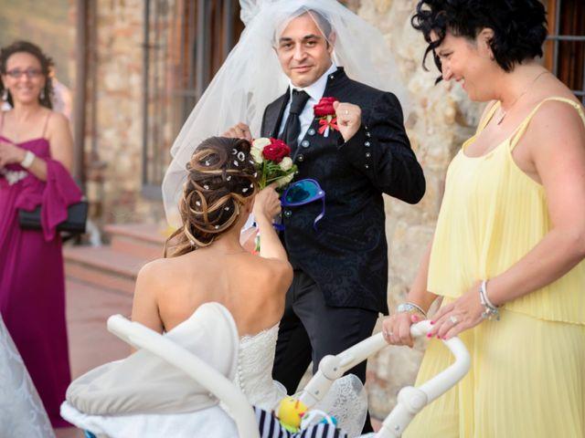 Il matrimonio di Giacomo e Irene a Carmignano, Prato 90