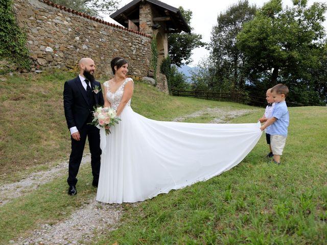 Il matrimonio di Marco e Gaia a Oggiono, Lecco 57