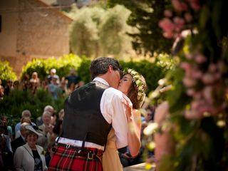 Le nozze di Sarah e Tom