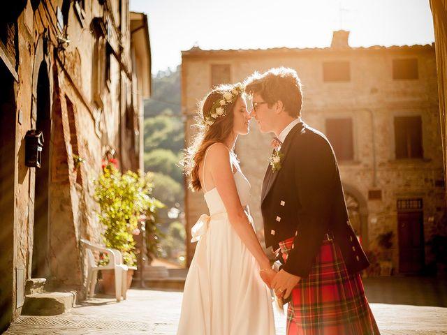 Il matrimonio di Tom e Sarah a Chianni, Pisa 26