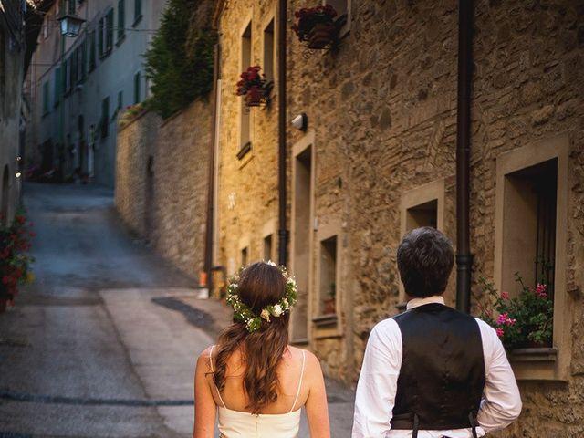 Il matrimonio di Tom e Sarah a Chianni, Pisa 27
