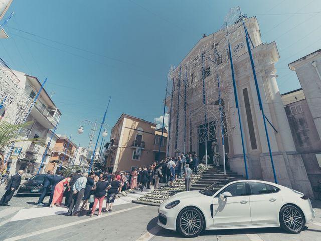 Il matrimonio di Arianna e Ernesto a San Valentino Torio, Salerno 37