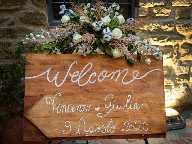 Il matrimonio di Vincenzo e Giulia a Assisi, Perugia 2