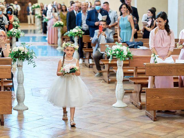 Il matrimonio di Vincenzo e Giulia a Assisi, Perugia 54