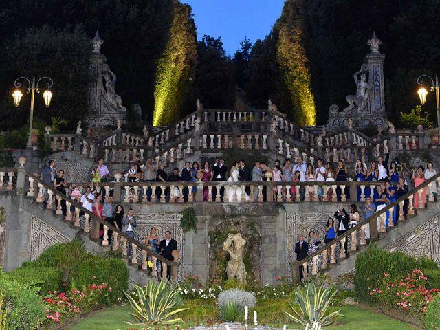 Il matrimonio di Besmir e Sonya a Monsummano Terme, Pistoia 31