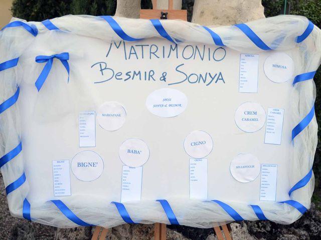 Il matrimonio di Besmir e Sonya a Monsummano Terme, Pistoia 55