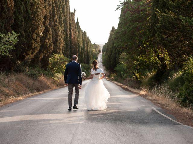 Il matrimonio di Enrico e Stefania a Castagneto Carducci, Livorno 57