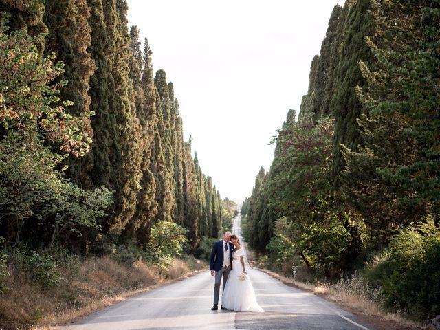 Il matrimonio di Enrico e Stefania a Castagneto Carducci, Livorno 58